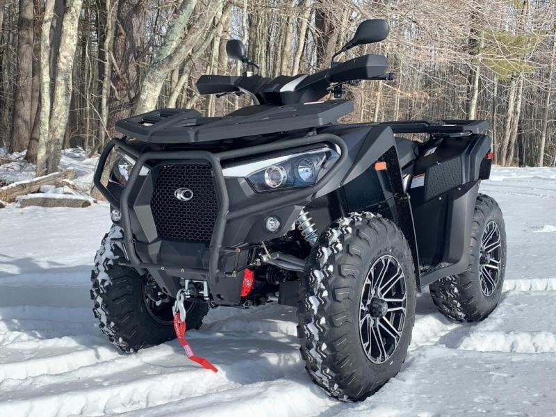 KYMCO MXU 700i LE EPS Euro with Alloy Wheels-Power Steering-Winch
