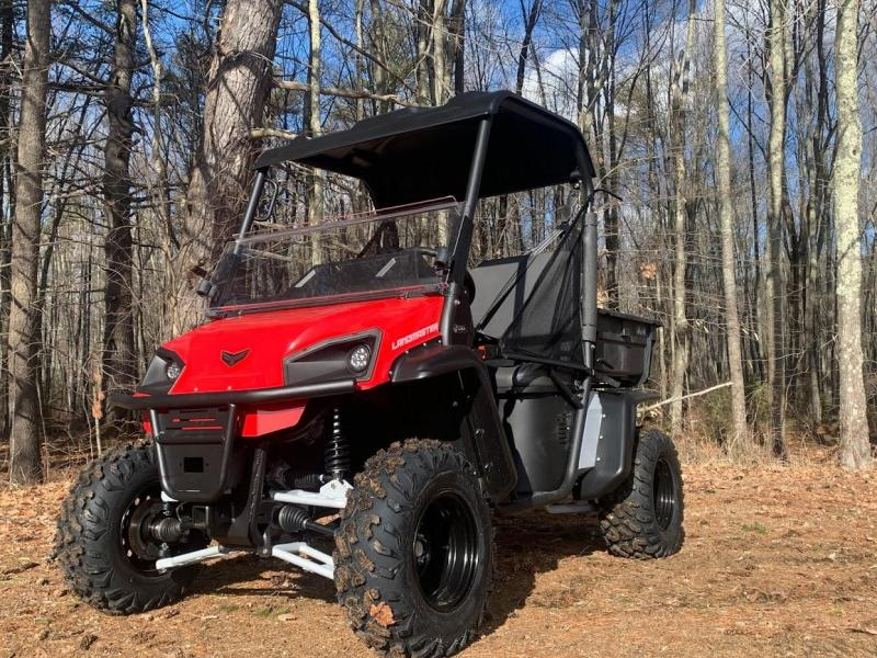 American Landmaster L7 694cc EFI 4x4 UTV Side By Side Made in USA! Red