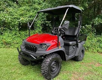 Taurus/Bighorn 200U EFI 2WD UTV with DUMP BODY 25MPH Red