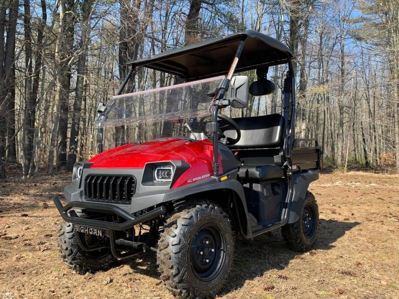 Taurus/Bighorn 200U EFI 2WD UTV with DUMP BODY 25MPH Red