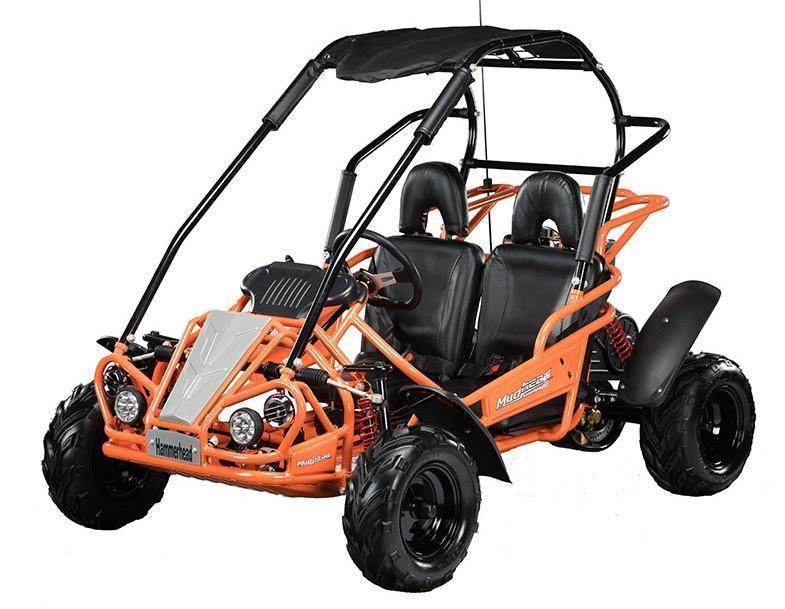 2021 Hammerhead MudHead 208R Youth Go Kart-ORANGE