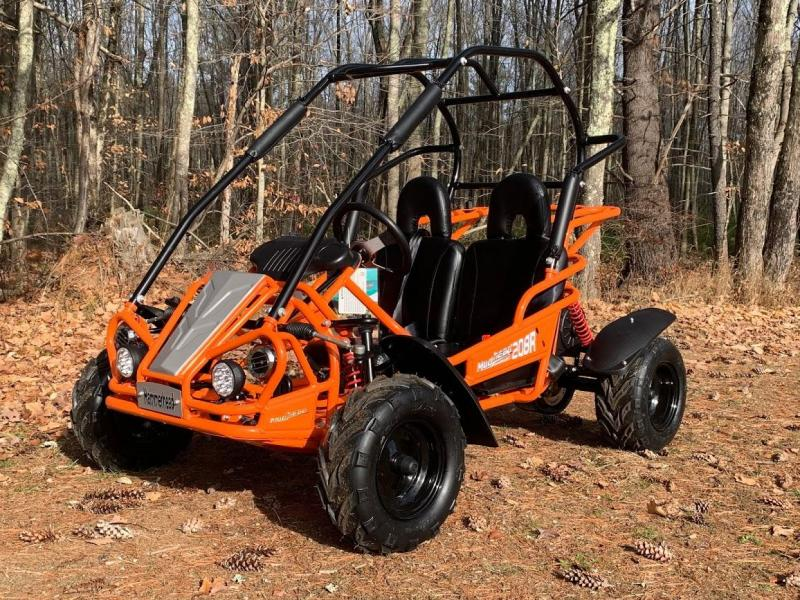 Holiday Special! NEW Hammerhead MudHead 208R Go Kart ages 8-13-Orange