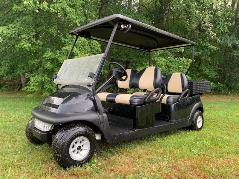Club Car Precedent 4 Person 48 volt GOLF CART LIMO with Utility Box