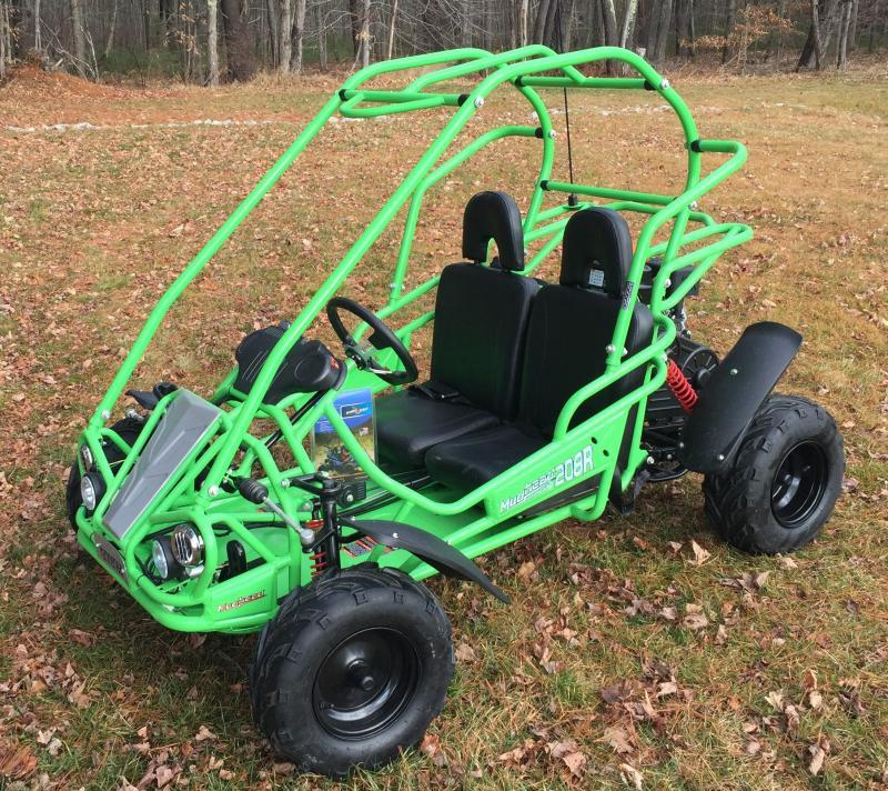 Spring Special! NEW Hammerhead MudHead 208R Go Kart ages 8-13-Green