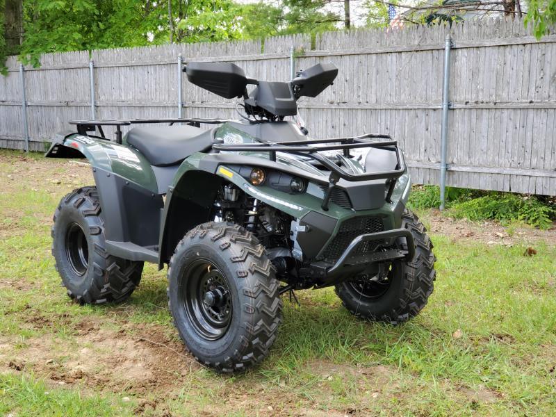 Bighorn 300 4x4 ATV Shaft Drive 22HP Linhai Quality-NICE MACHINE Green