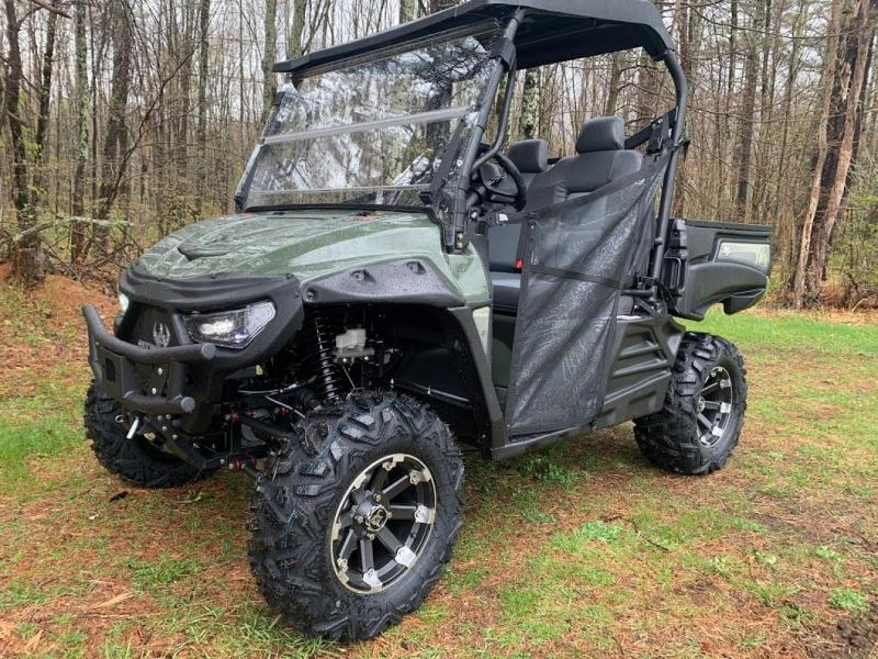 2021 INTIMIDATOR 4WD POWERFUL Electric DELUXE XD4 UTV MADE IN USA-Gray