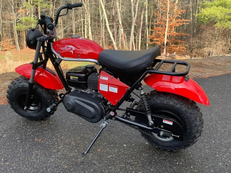 Winter Special! New TrailMaster MB200 Mini Bike great for trail rides-RED