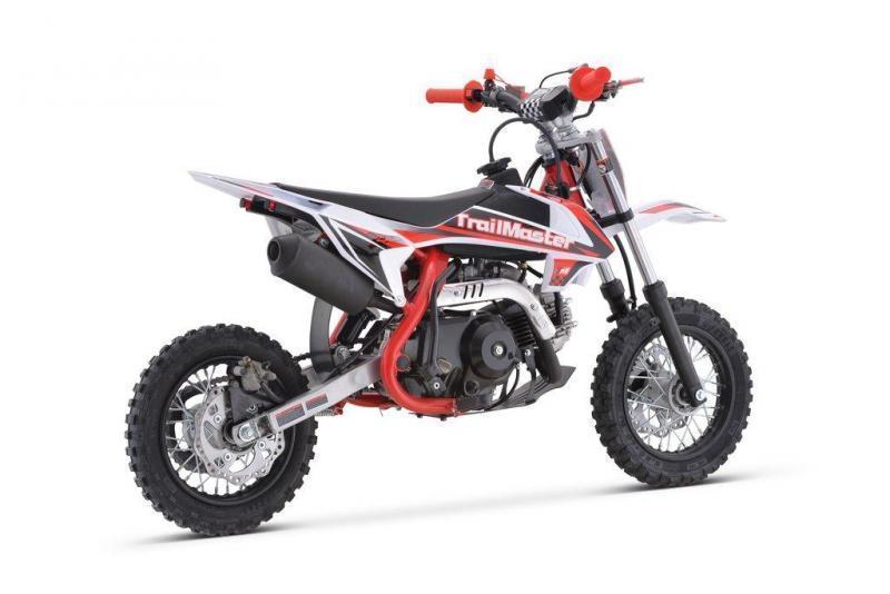 Fall Special! New TrailMaster Kids TM11 110cc Dirt Bike, Automatic Clutch Electric Start