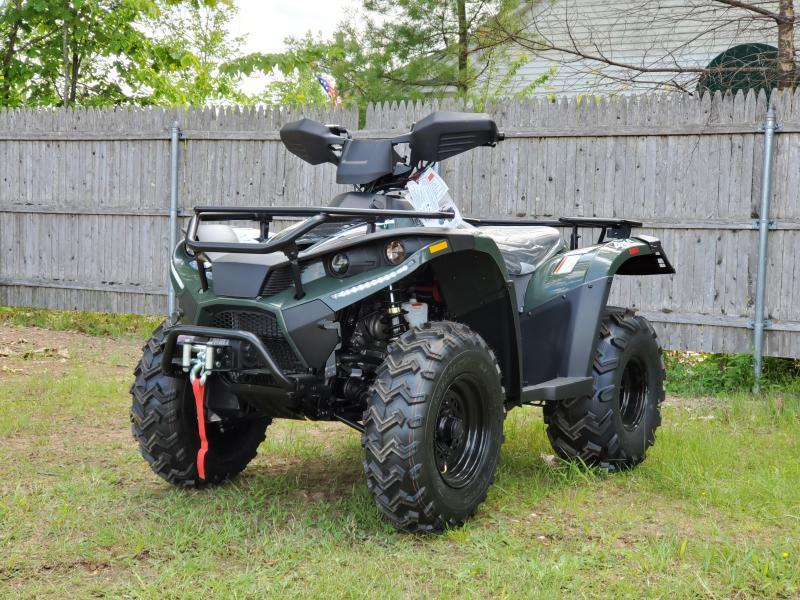 Bighorn 300DX 4x4 ATV Shaft Drive 22HP Linhai Quality-with WINCH Green