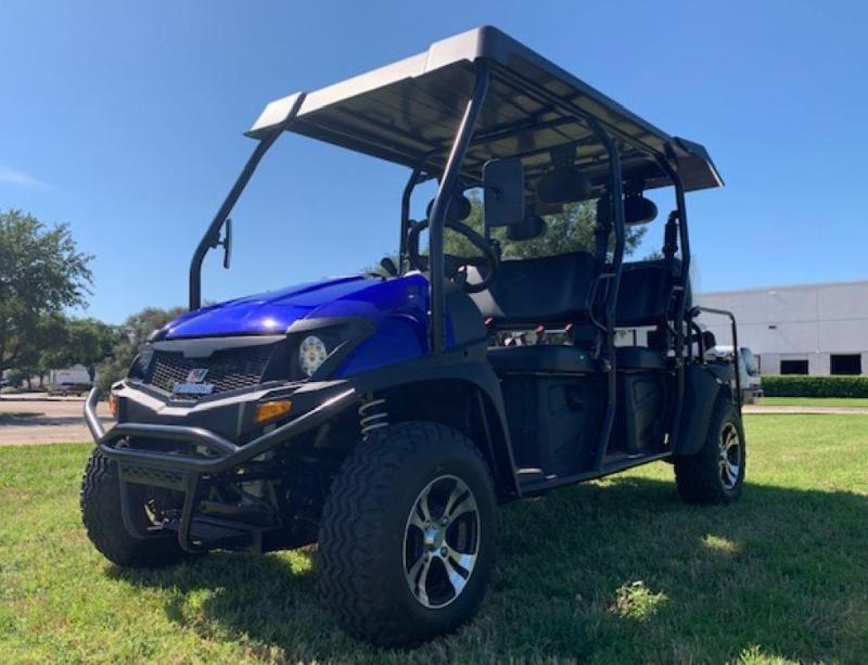 TAURUS 450 MFV 6 PASSENGER 4X4 UTV 35MPH FUEL INJECTED GAS POWER