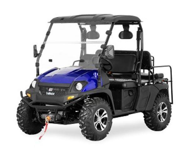 Trailmaster Taurus 450U EFI 4X4 4 passenger UTV with fold down seat 43MPH 26HP GREEN
