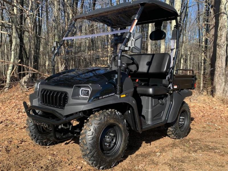 Taurus/Bighorn 200U EFI 2WD UTV with DUMP BODY 25MPH Black
