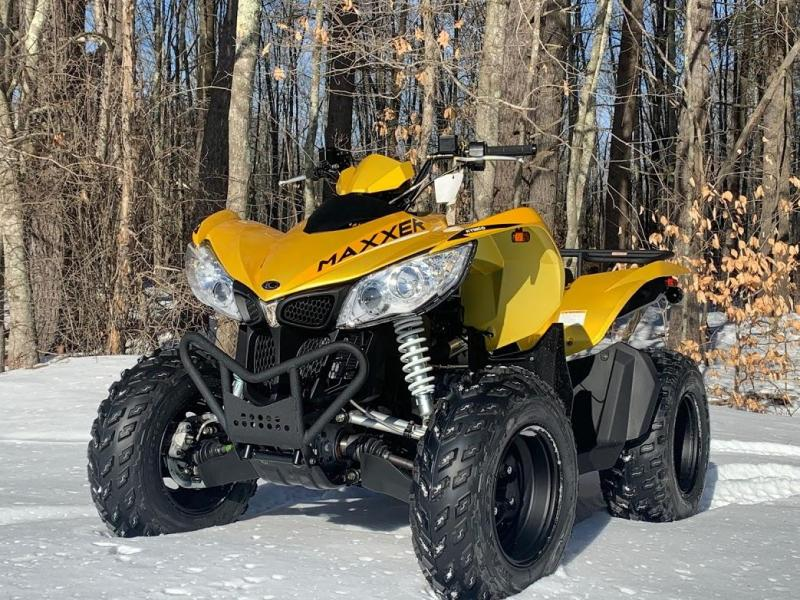 KYMCO Maxxer 450i Fuel Injected Go Anywhere Sport Performance ATV 4x4