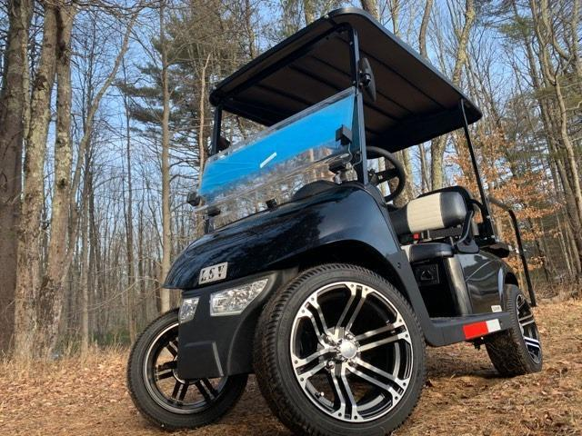 2020 MidSouth EZGO RXV LSV 25MPH Street Legal 4 pass golf car-Black