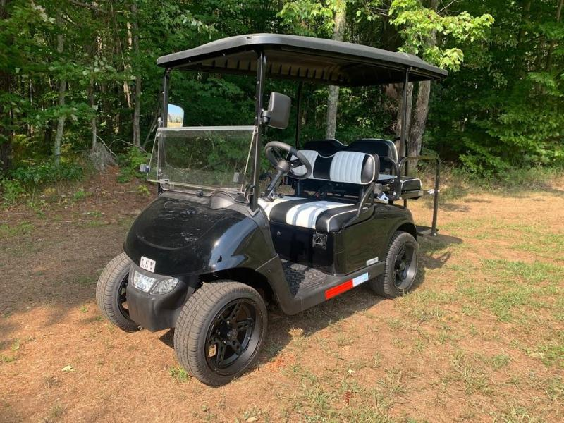 2021 MidSouth EZGO RXV LSV 25MPH Street Legal 4 pass golf car-Black