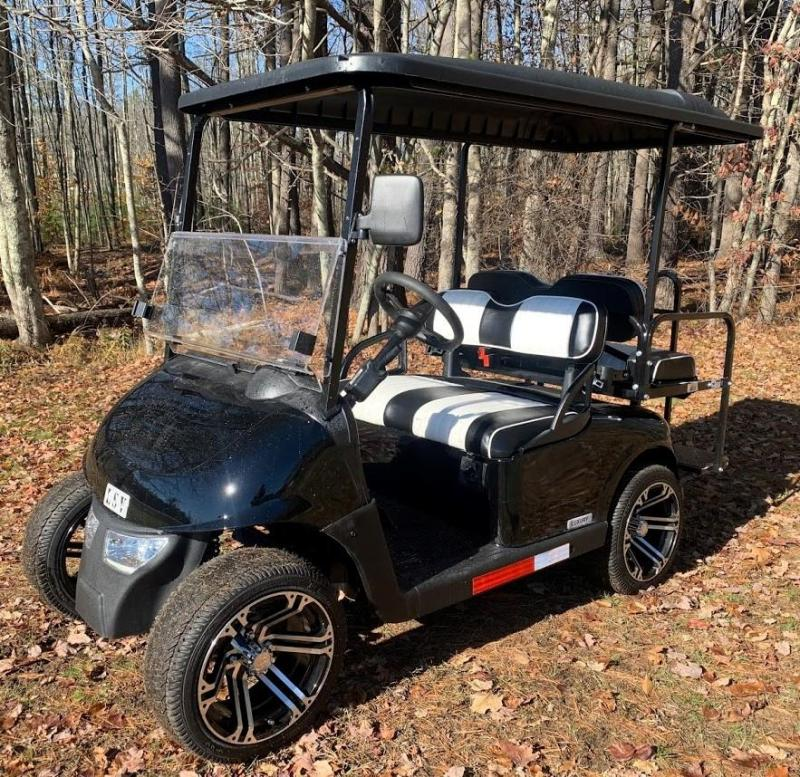 Winter Sale! MidSouth EZGO RXV LSV 25MPH Street Legal golf car-Black