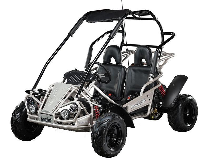 2021 Hammerhead MudHead 208R Youth Go Kart-SILVER