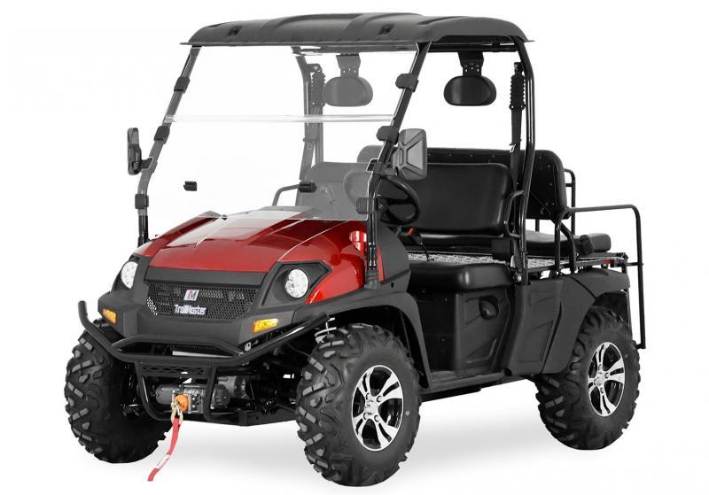2020 Trailmaster Taurus 450G EFI 4X4 4 person UTV 43 MPH SIDE BY SIDE-RED