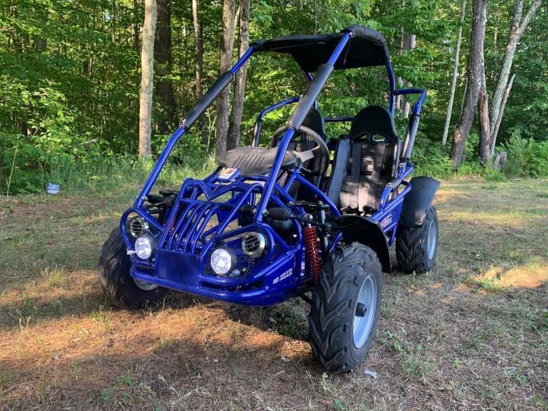 Fall Special! NEW TrailMaster MID-XRX/R Kart ages 6-12 Blue
