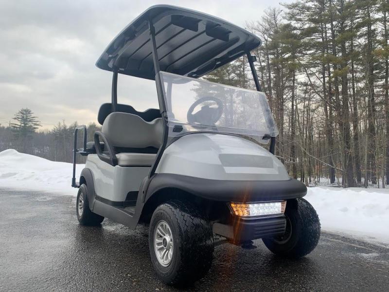Spring Special!-Gray/Black Precedent 4 pass 48 Volt car 19 MPH speed upgrade