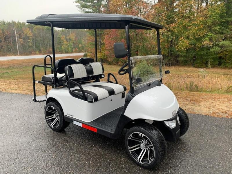 Winter Clearance Sale! 2021 Midsouth EZGO RXV 25MPH Street Legal-White