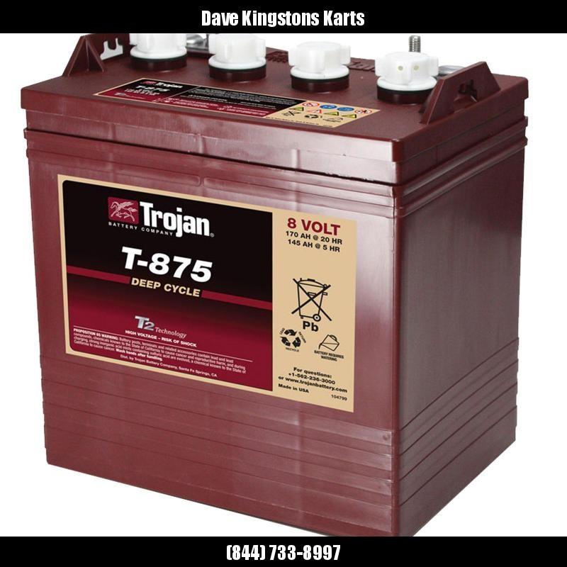 2021 Trojan T-875 Deep Cycle Battery-IN STOCK