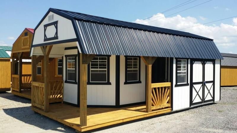 Brand NEW Old Hickory Deluxe Playhouse Lofted Utility Barn 12' x 24'