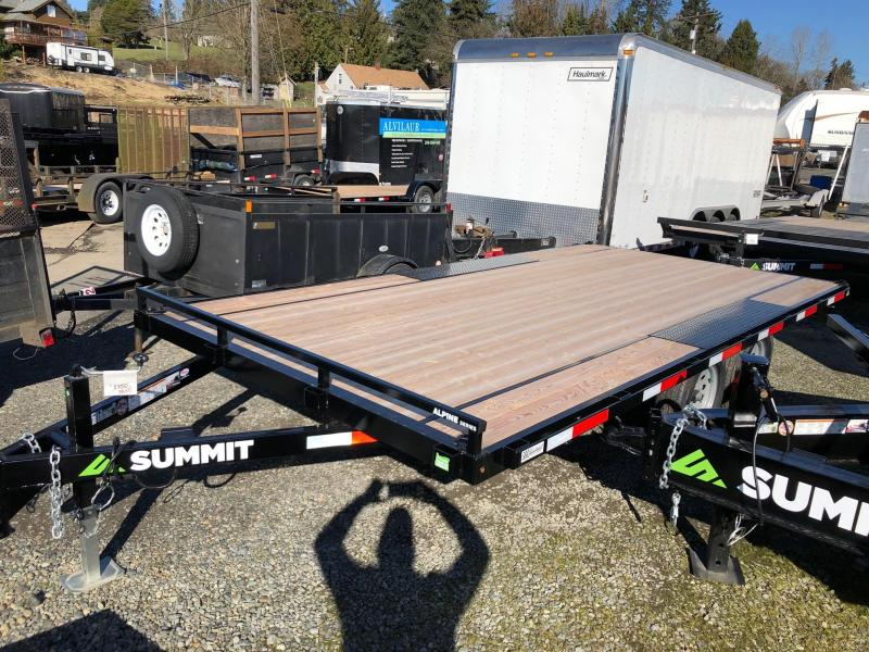 2020 Summit 8.5' X 16' Alpine Deckover Flatbed Trailer
