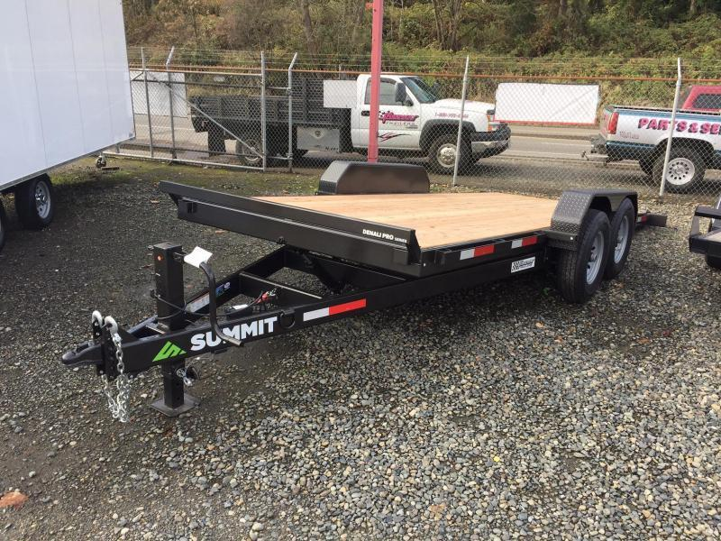 2021 Summit 7' x 18' Denali Pro Tiltbed Flatbed Trailer
