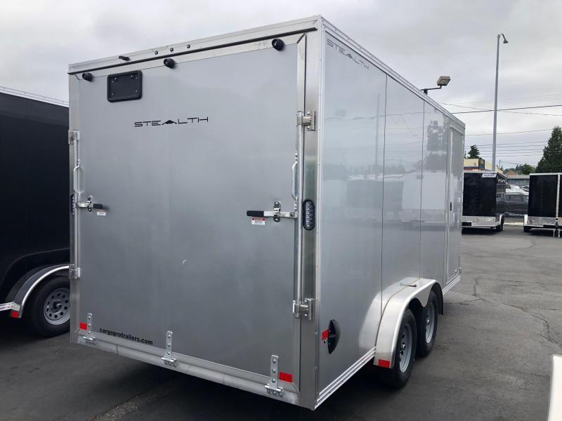 2022 Alcom-Stealth 7.5' X 16' Stealth Enclosed Cargo Trailer
