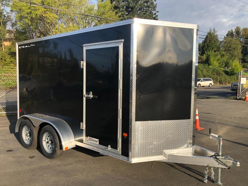 2020 Alcom-Stealth 6' X 12' Stealth Tandem Axle Enclosed Cargo Trailer
