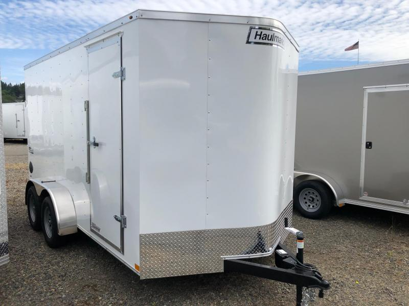 2021 7' x 14' Haulmark Passport Deluxe Enclosed Cargo Trailer