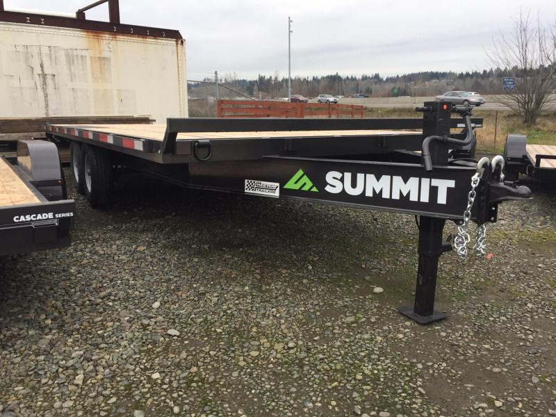 2021 Summit 8.5' X 20' Denali Pro Flatbed Trailer