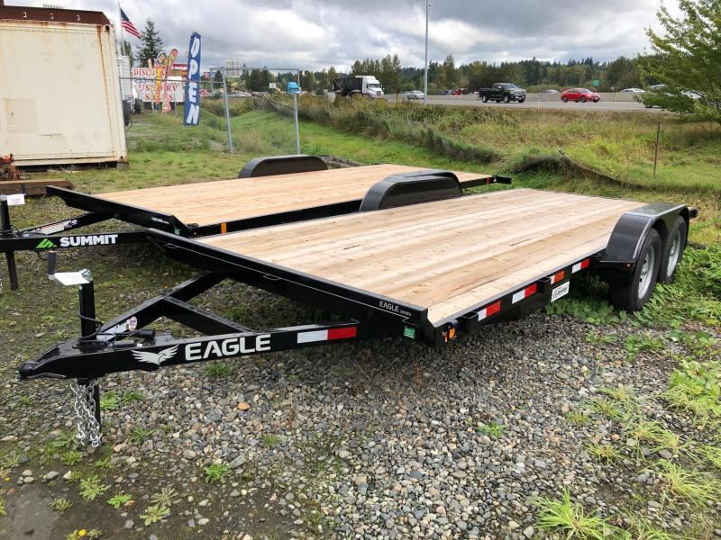 2021 Eagle Trailer 7' x 16' Eagle Flatbed Flatbed Trailer