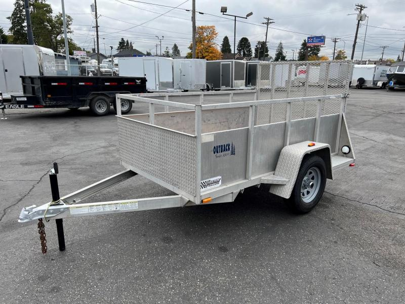 2004 C and B Quality Trailer Works 5' x 8' Outback Utility Trailer