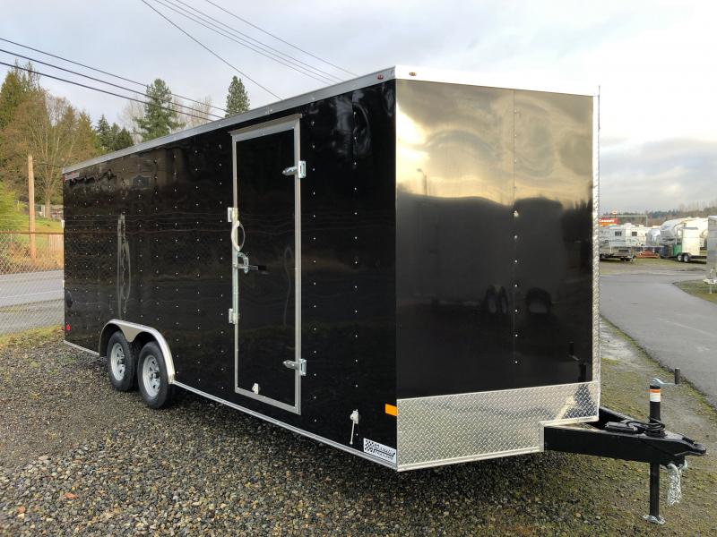 2021 Wells Cargo 8.5' X 20' V-Nose FastTrac Car / Racing Trailer