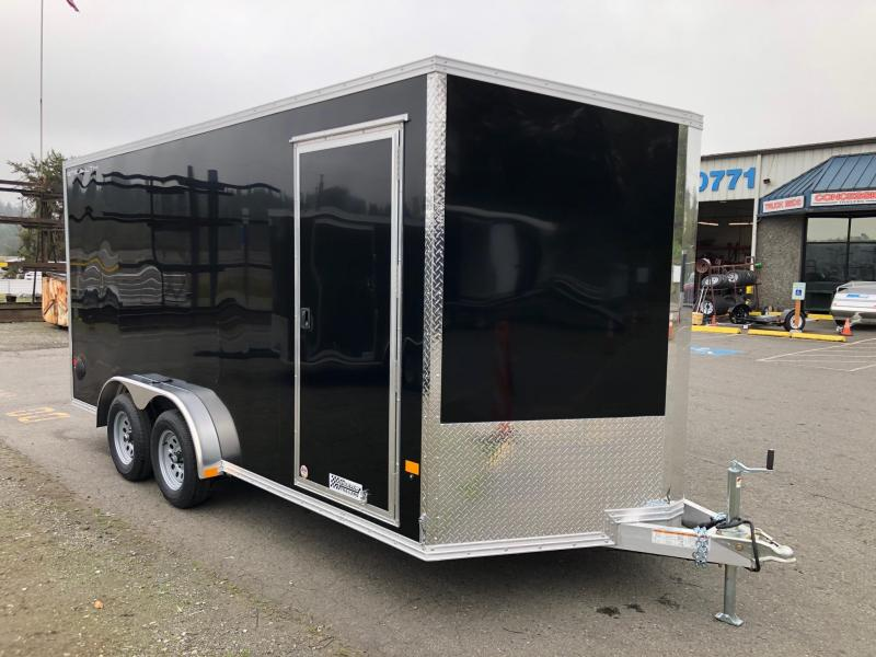 2021 Alcom-Stealth 7.5' X 16' Stealth Enclosed Cargo Trailer