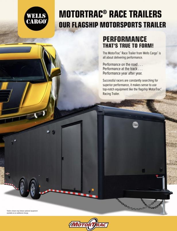 2020 Wells Cargo MotorTrac Car / Racing Trailer