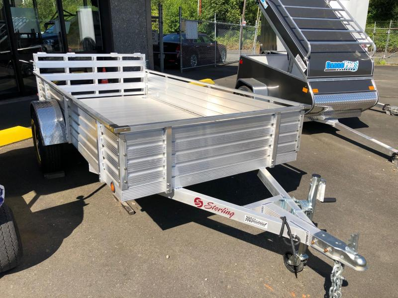 "2021 Sterling Trailers 6' X 10' X 16"" Solid Side Utility Trailer"