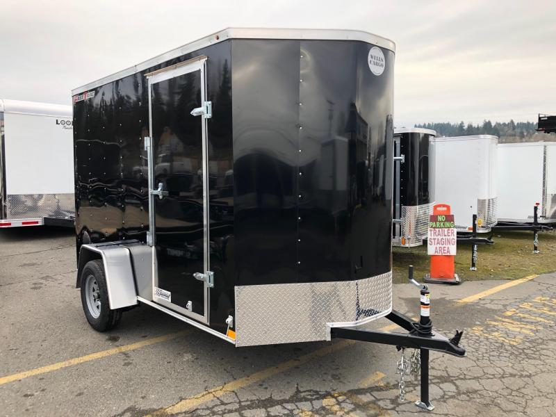 2021 Wells Cargo Fast Trac Deluxe 6' X 10' Enclosed Cargo Trailer