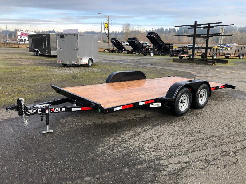 2021 Eagle Trailer 7' X 16' Eagle Tilt Bed Flatbed Trailer