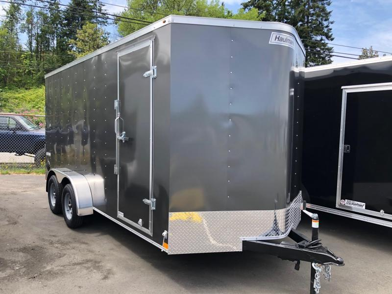 2021 7' x 16' Haulmark Passport Deluxe Enclosed Cargo Trailer