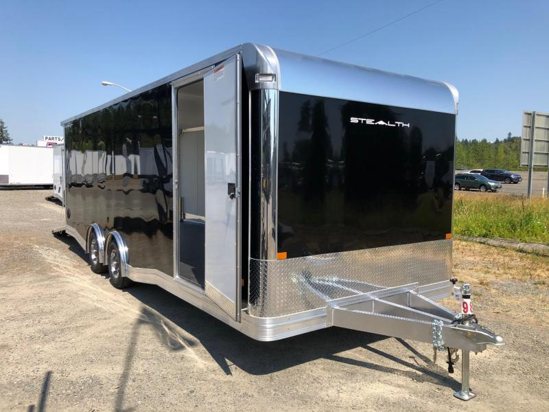 2021 Alcom-Stealth Trailers 8.5' X 24' Stealth Car Hauler Car / Racing Trailer