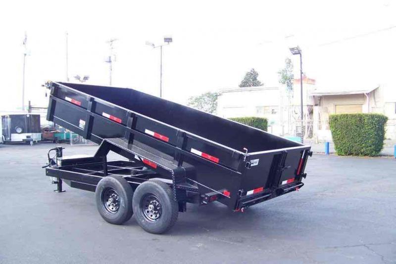 2021 Eagle Trailer Black Hawk Dump Dump Trailer
