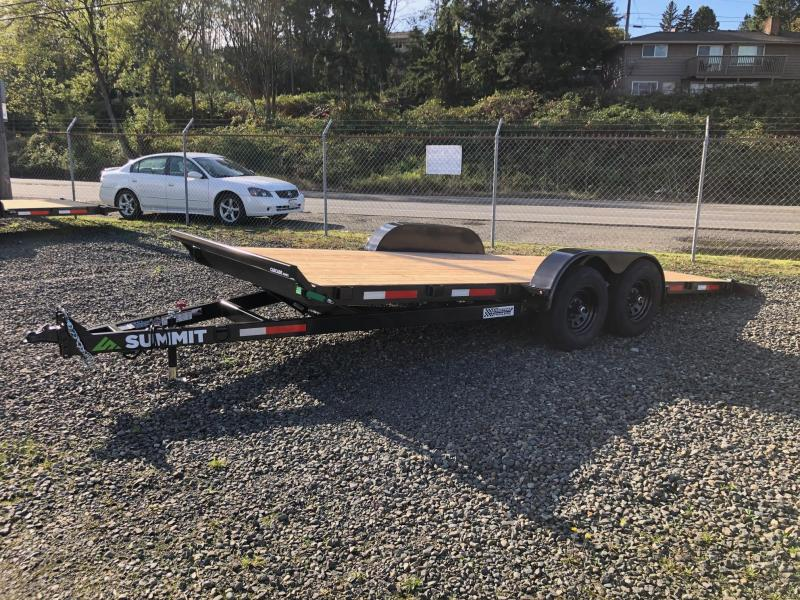 2021 Summit C5TB718TA3-RF Flatbed Trailer