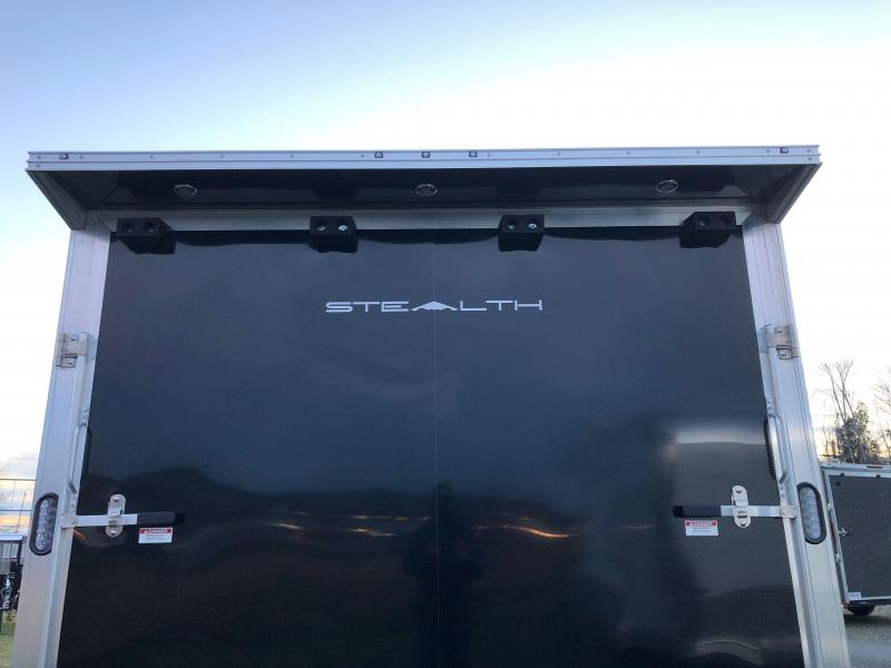 2021 Alcom-Stealth Trailers 8.5' X 20' Stealth Car Hauler Car / Racing Trailer
