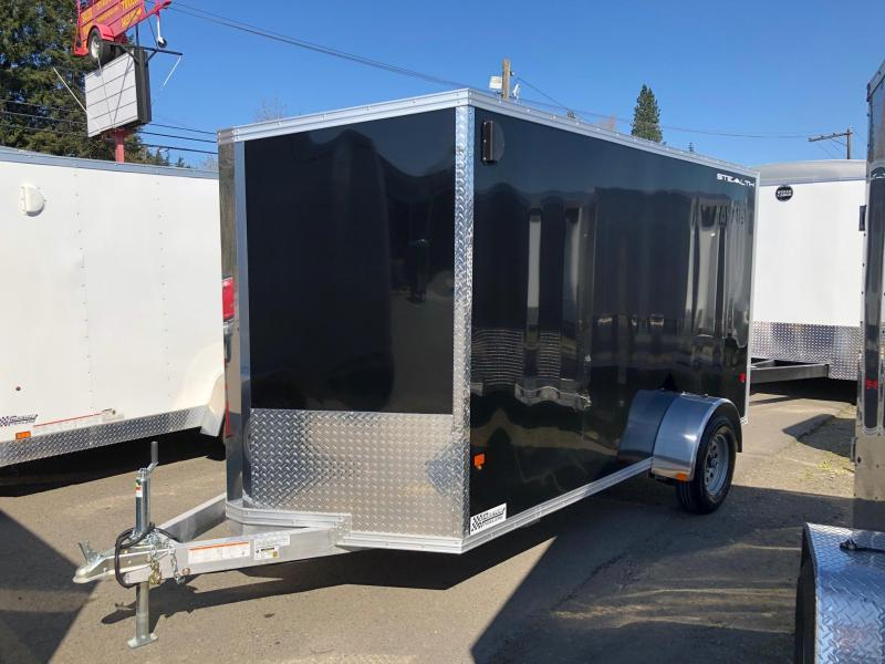 2020 Alcom-Stealth C6X12SA-IF Enclosed Cargo Trailer