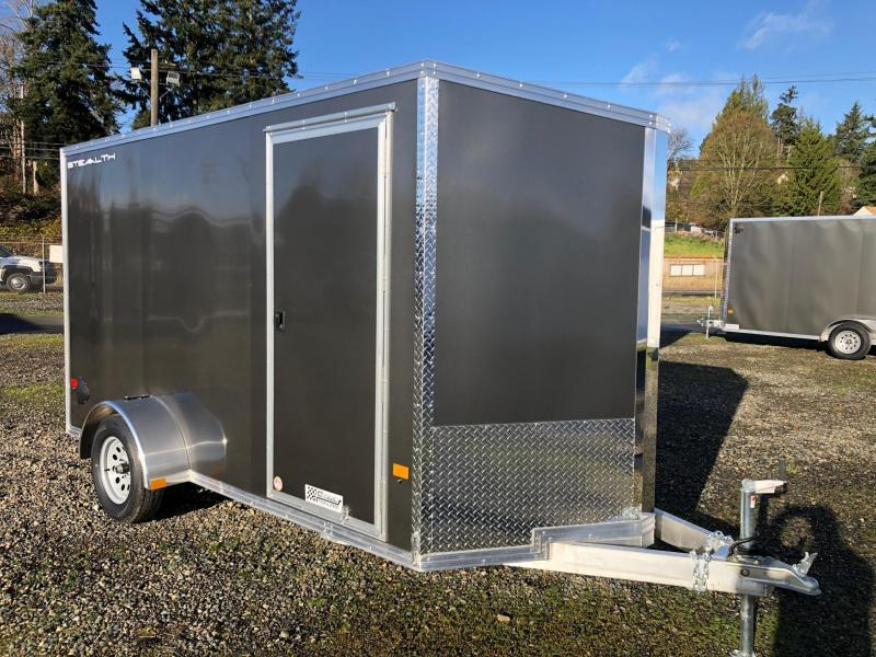 2021 Alcom-Stealth C6X12SA-IF Enclosed Cargo Trailer
