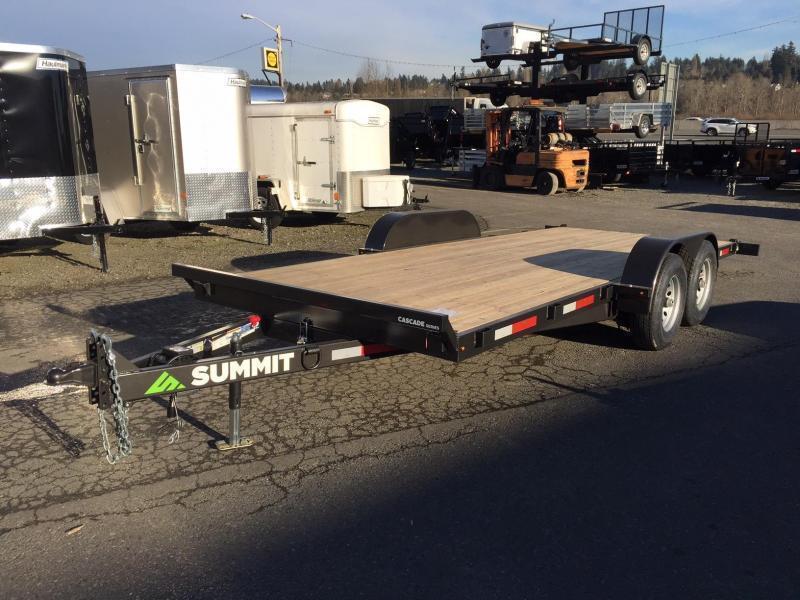 2021 Summit C5TB718TA3-RF Flatbed Trailer