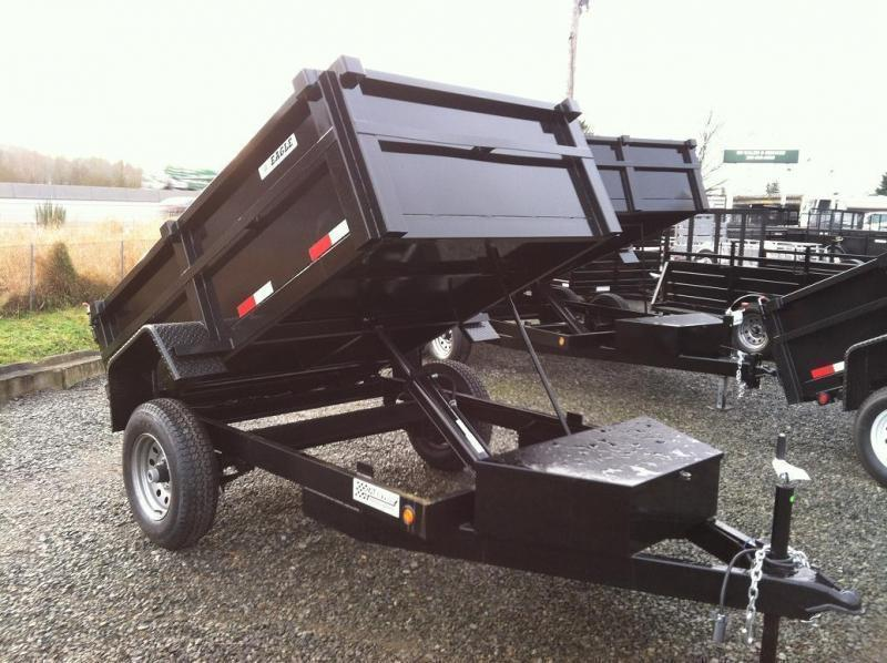 2021 Eagle Trailer 5' x 8' Eagle Single Axle Dump Eagle Dump Trailer